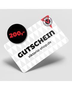 """Geschenk-Gutschein """"200€"""""""