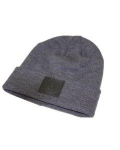 Mütze mit Lederpatch