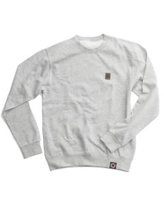 Sweatshirt mit Lederpatch